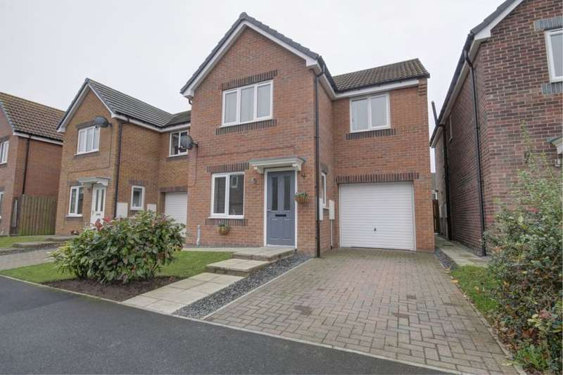 3 Bedrooms Detached House for sale in Kingsdale Close, Catchgate, Stanley, DH9
