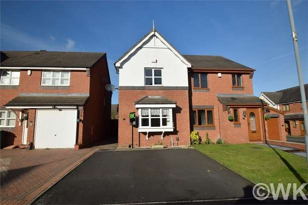 2 Bedrooms Semi Detached House for sale in Navigation Lane, WEST BROMWICH, West Midlands