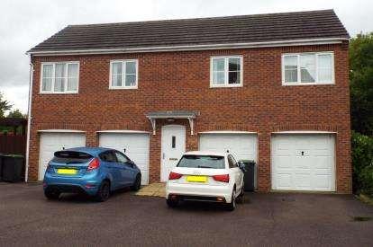 2 Bedrooms Maisonette Flat for sale in Elder Close, Witham St. Hughs, Lincoln, Lincolnshire