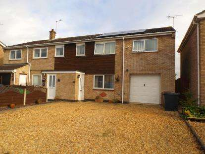 4 Bedrooms Semi Detached House for sale in Fernie Close, Newborough, Peterborough, Cambs