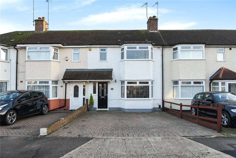 2 Bedrooms Terraced House for sale in Clyfford Road, Ruislip Gardens, Middlesex, HA4
