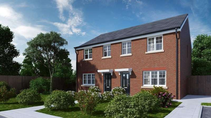 3 Bedrooms Semi Detached House for sale in Ridyard Street, Platt Bridge, Wigan, WN2