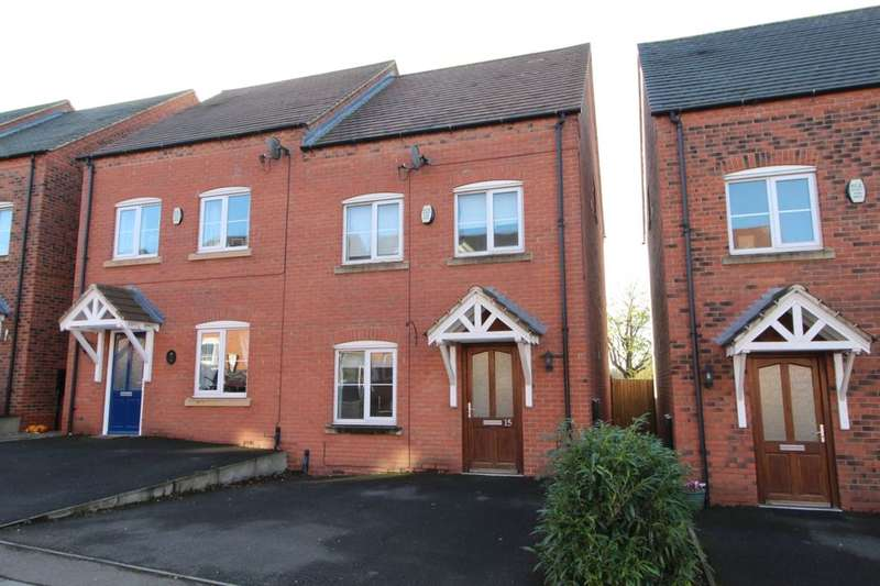 4 Bedrooms Semi Detached House for sale in Lakeshore Crescent, Whitwick, Coalville, LE67