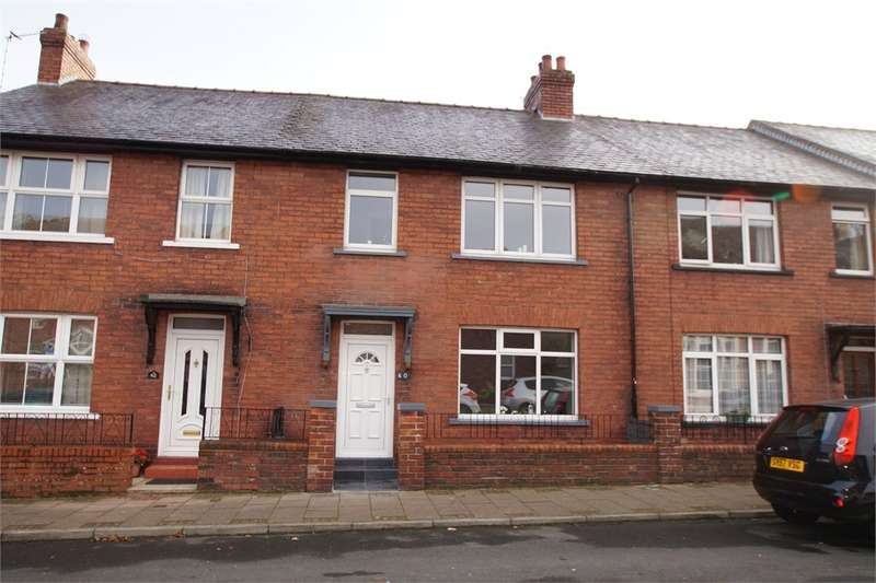 3 Bedrooms Terraced House for sale in CA3 9LH Eden Street, Stanwix, Carlisle, Cumbria