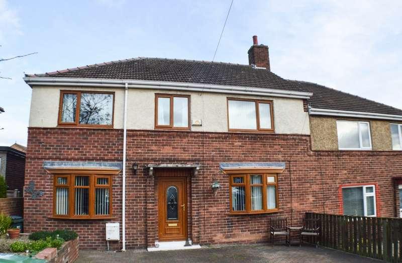 5 Bedrooms Semi Detached House for sale in Rockwood Hill, Greenside, NE40