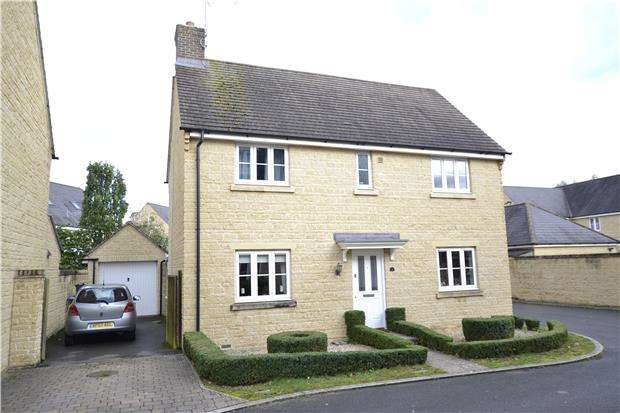 4 Bedrooms Detached House for sale in Brook Lane, WITNEY, OX28 1BP