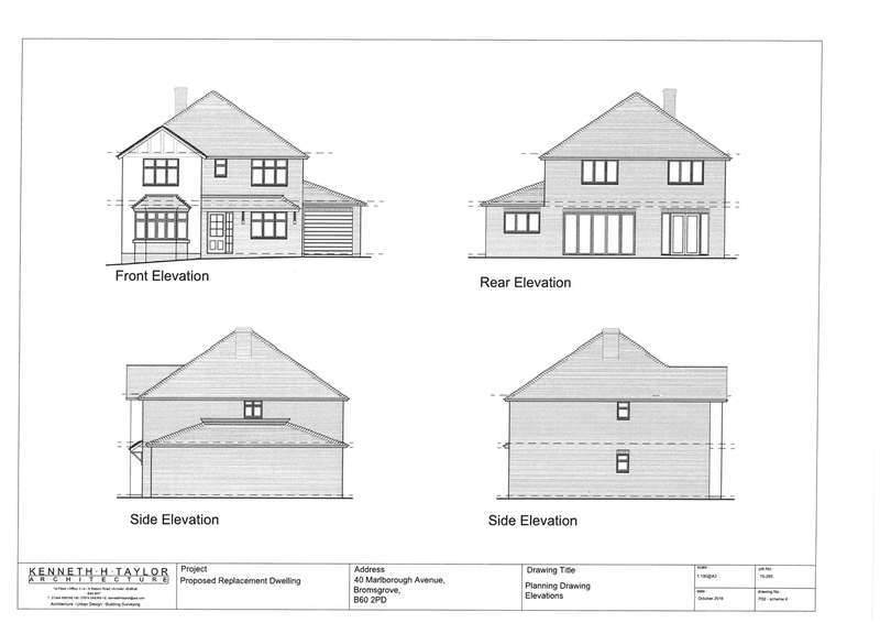 4 Bedrooms Plot Commercial for sale in Marlborough Avenue, Bromsgrove, B60