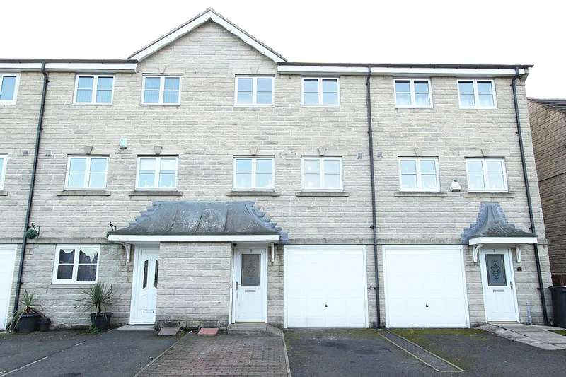 3 Bedrooms Town House for sale in Highcliffe Court, Shelf, Halifax, West Yorkshire, HX3 7JX
