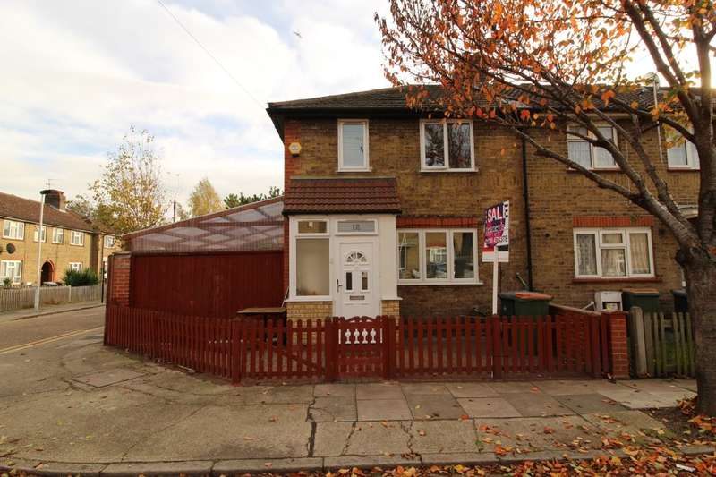 2 Bedrooms Terraced House for sale in St. Clair Road, LONDON, E13