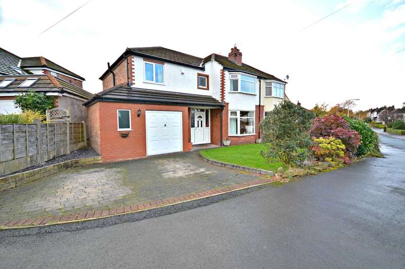 4 Bedrooms Semi Detached House for sale in Kings Road, Cheadle Hulme
