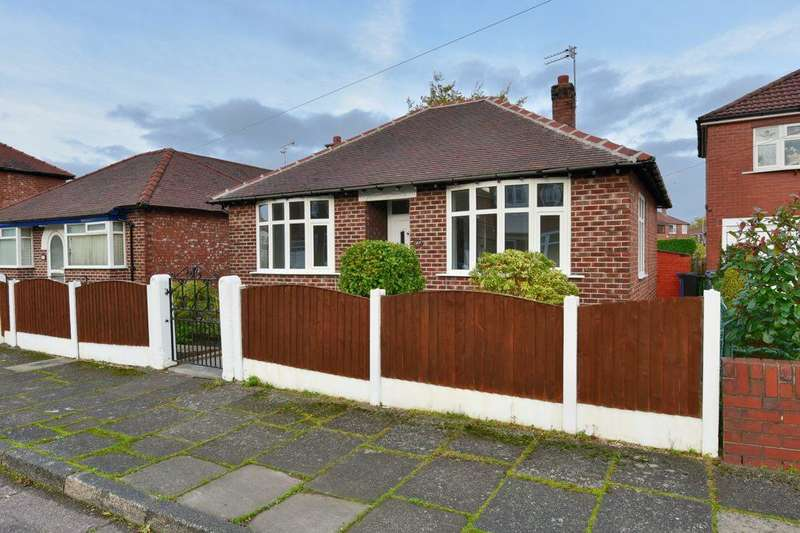 2 Bedrooms Detached Bungalow for sale in Northcliffe Road, Offerton, Stockport, Cheshire, SK2 5AN
