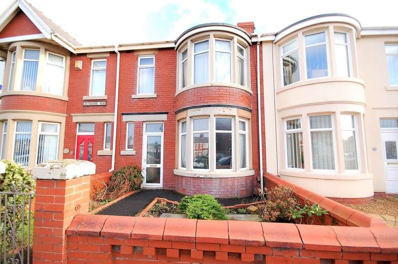 3 Bedrooms Terraced House for sale in Eastbourne Road, Blackpool