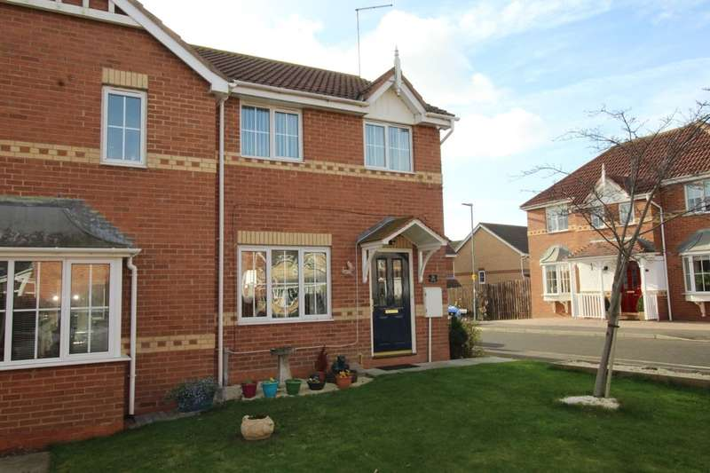 3 Bedrooms Semi Detached House for sale in Fordham Drive, Sacriston, Durham, DH7