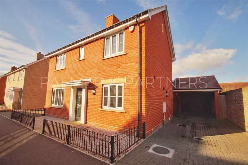 4 Bedrooms Detached House for sale in New Farm Road, Stanway, Colchester