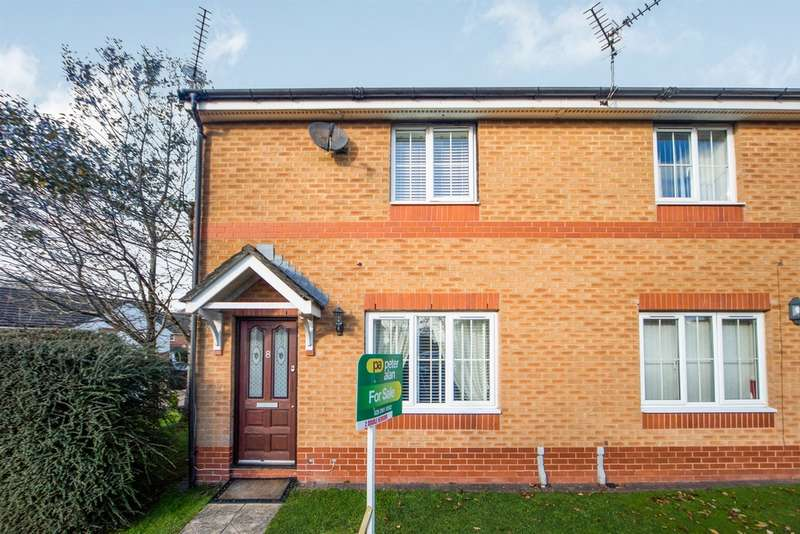 2 Bedrooms Semi Detached House for sale in Heol Llinos, Thornhill, Cardiff