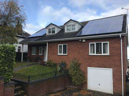 4 Bedrooms Detached House for sale in Allt Y Golch, Carmel, Holywell, Flintshire, CH8