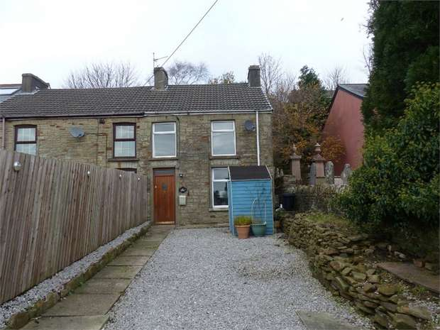 2 Bedrooms End Of Terrace House for sale in Rose Terrace, Bettws, Bridgend, Mid Glamorgan