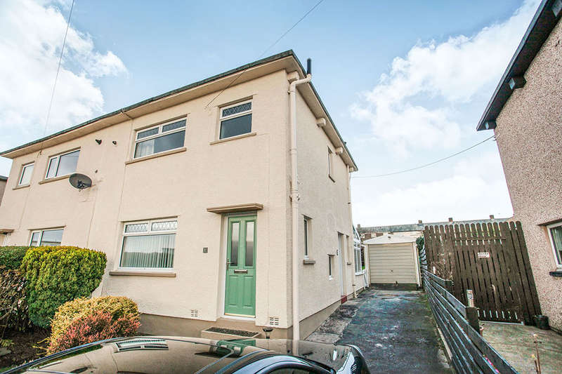 3 Bedrooms Semi Detached House for sale in Kennedy Road, Seaton, Workington, CA14