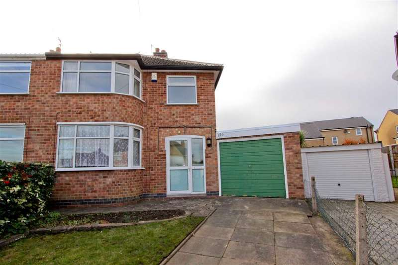 3 Bedrooms Semi Detached House for sale in Andrew Road, Anstey