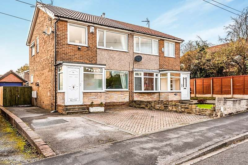 3 Bedrooms Semi Detached House for sale in Churchfield Lane, Rothwell, Leeds, LS26
