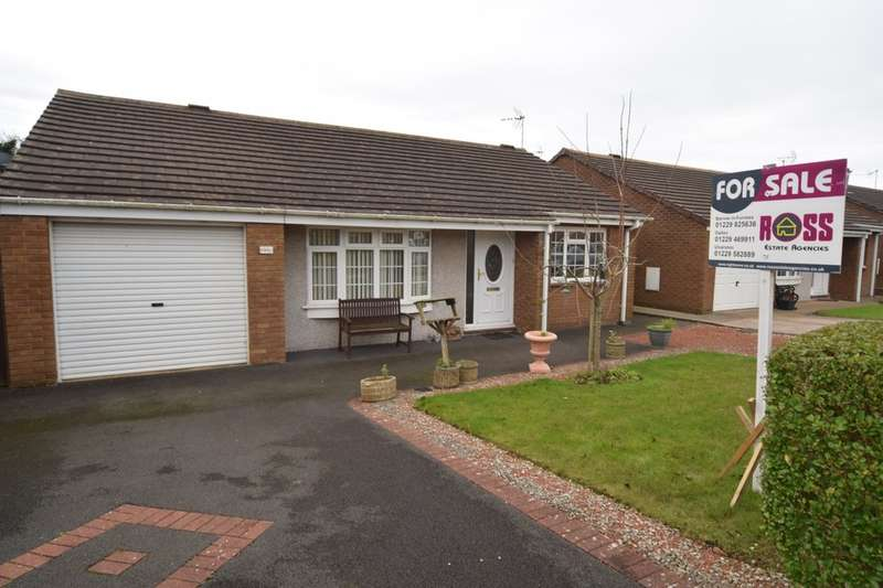 3 Bedrooms Detached Bungalow for sale in Glenridding Drive, Barrow-in-Furness, Cumbria, LA14 4PA