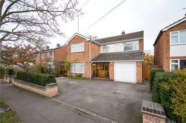 4 Bedrooms Detached House for sale in John O'Gaunt Road, Kenilworth