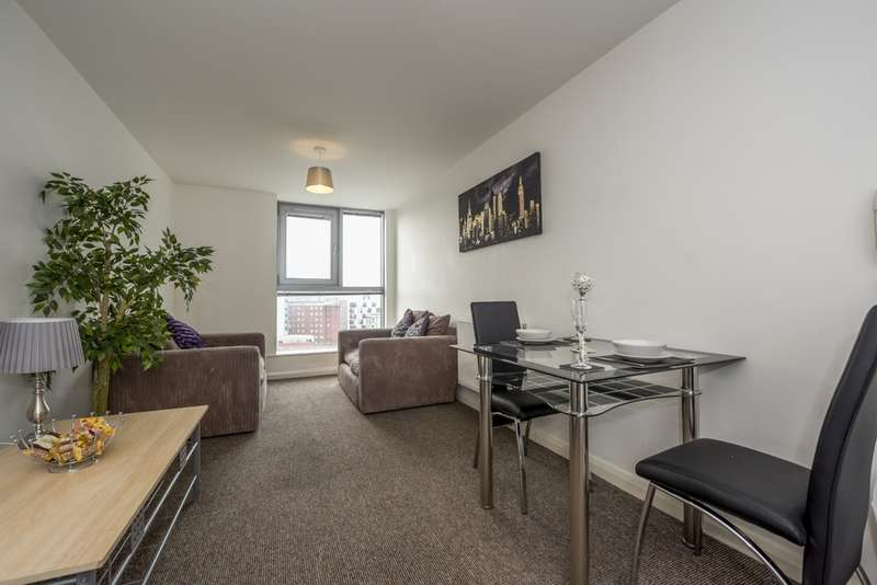 1 Bedroom Serviced Apartments Flat for sale in Lace Street, Liverpool City Centre, L3