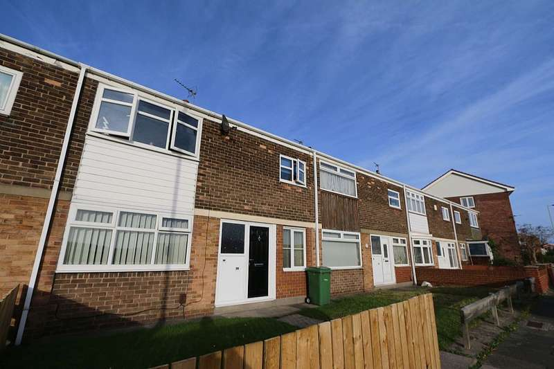 3 Bedrooms Town House for sale in Galsworthy Road, South Shields, Tyne and Wear, NE34 9UF