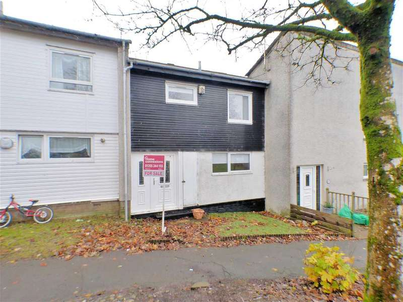 3 Bedrooms Terraced House for sale in Teal Crescent, Greenhills, EAST KILBRIDE