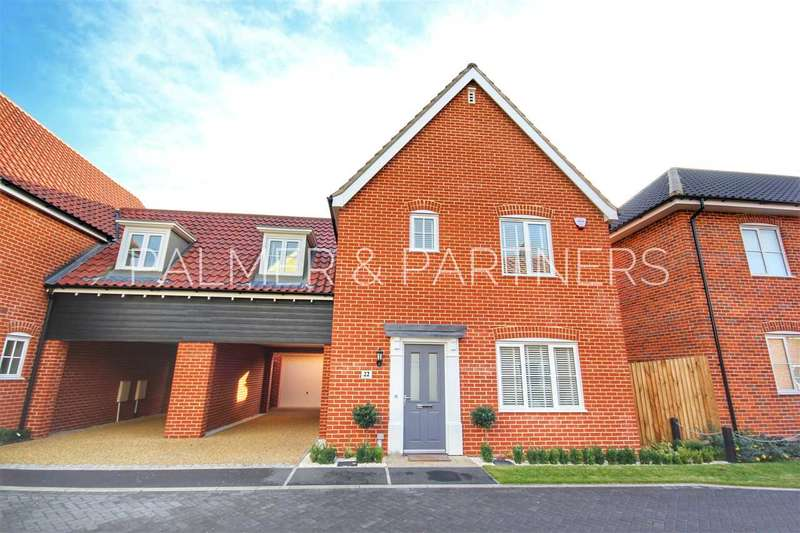 3 Bedrooms Link Detached House for sale in Foundry Close, Sudbury