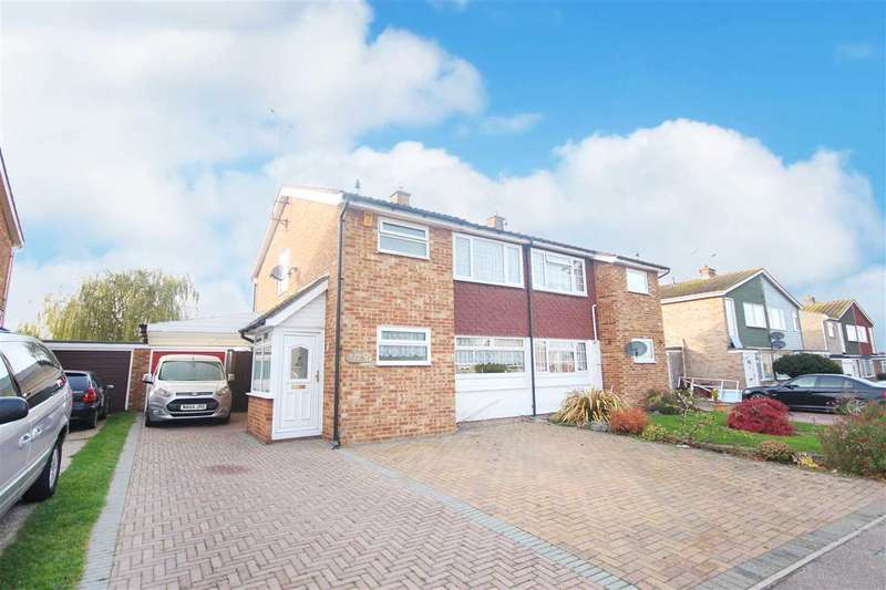 3 Bedrooms Semi Detached House for sale in Craigfield Avenue, Great Clacton