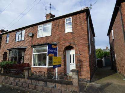 3 Bedrooms Semi Detached House for sale in Carlton Road, Long Eaton, Nottingham