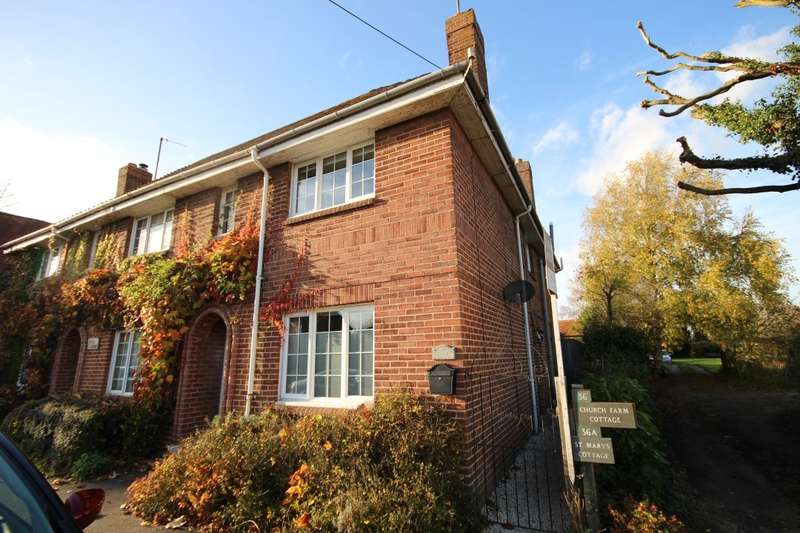 3 Bedrooms Semi Detached House for sale in The Villas, High Street, Long Wittenham, Abingdon, OX14