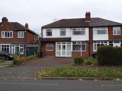 3 Bedrooms Semi Detached House for sale in Delves Green Road, Walsall, West Midlands