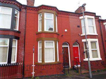 3 Bedrooms Terraced House for sale in Cameron Street, Liverpool, Merseyside, England, L7