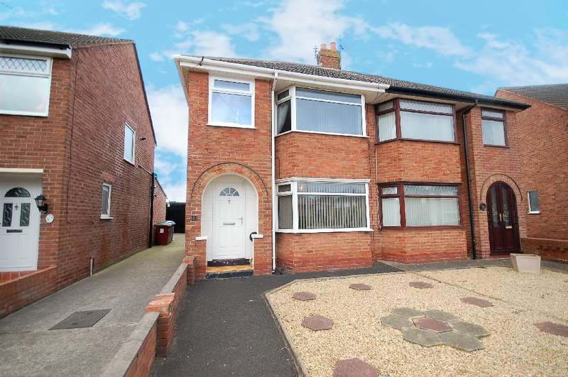 3 Bedrooms Semi Detached House for sale in Wingate Avenue, Thornton-Cleveleys
