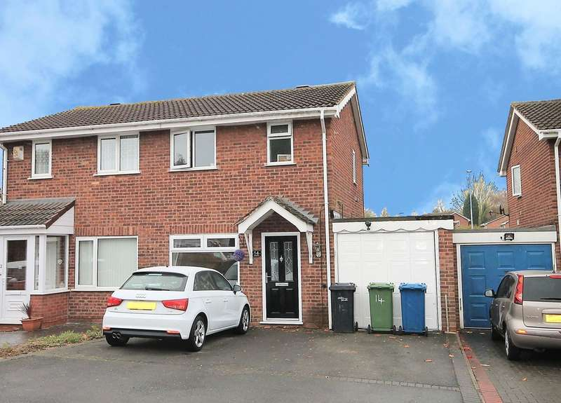 2 Bedrooms Semi Detached House for sale in Sykesmoor, Wilnecote, Tamworth, B77 4LE