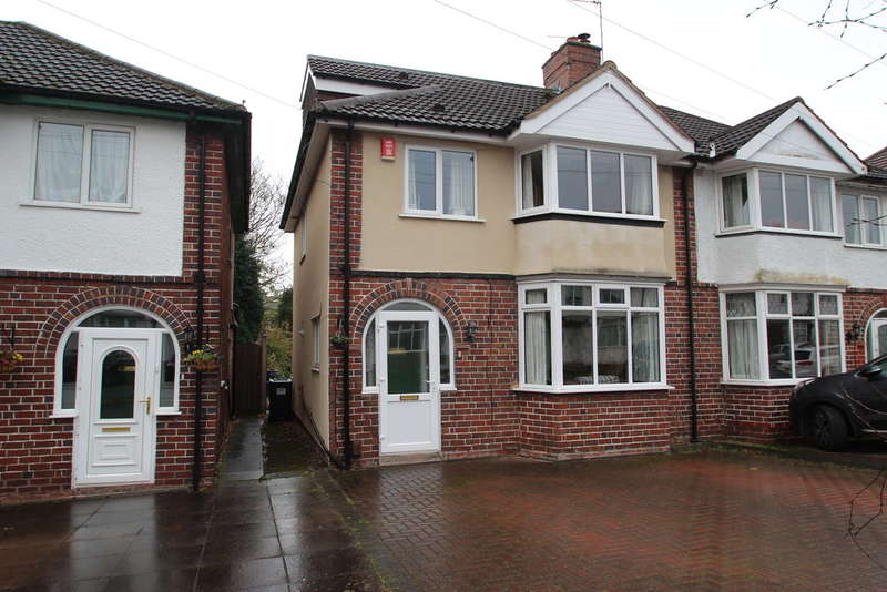 4 Bedrooms Semi Detached House for sale in Wentworth Park Avenue, Harborne