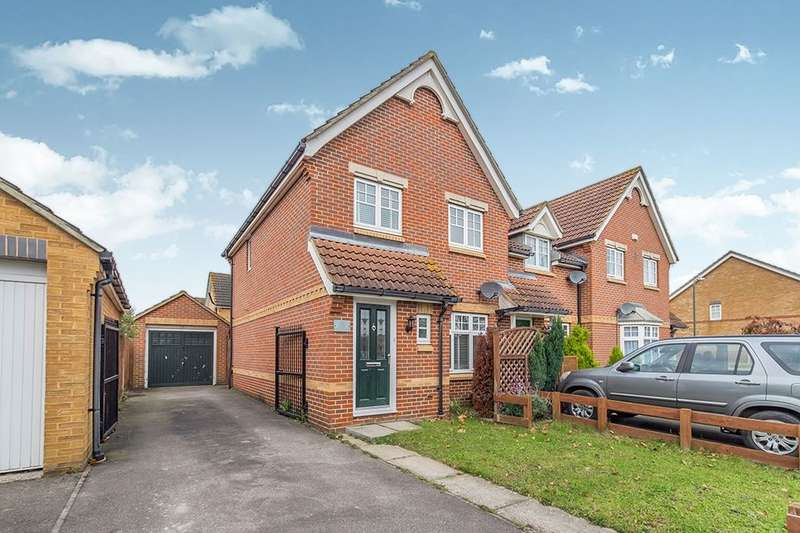 3 Bedrooms Semi Detached House for sale in Queen Elizabeth Square, Maidstone, ME15