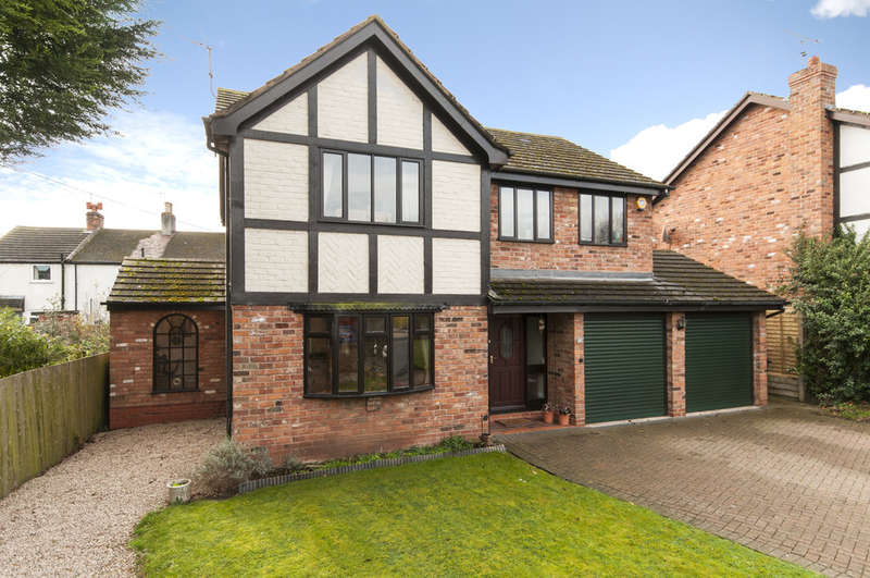 4 Bedrooms Detached House for sale in Cooks Drive, Castle Donington, Derby