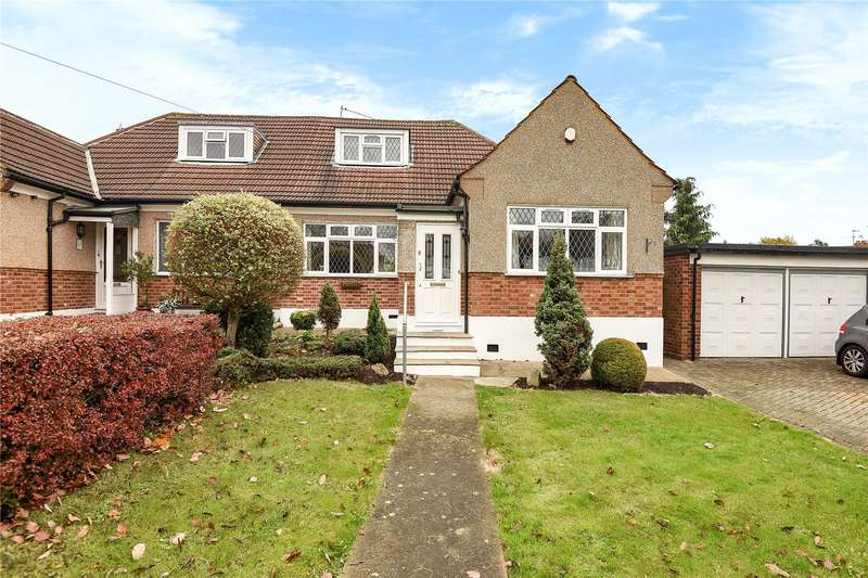 2 Bedrooms Semi Detached Bungalow for sale in Highfield Avenue, Pinner, Middlesex, HA5