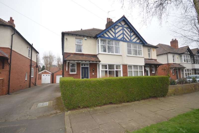 3 Bedrooms Semi Detached House for sale in Ashleigh Avenue, Wakefield, WF2
