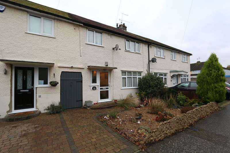 3 Bedrooms Terraced House for sale in Aubrey Avenue, London Colney, St. Albans, Hertfordshire, AL2 1NE