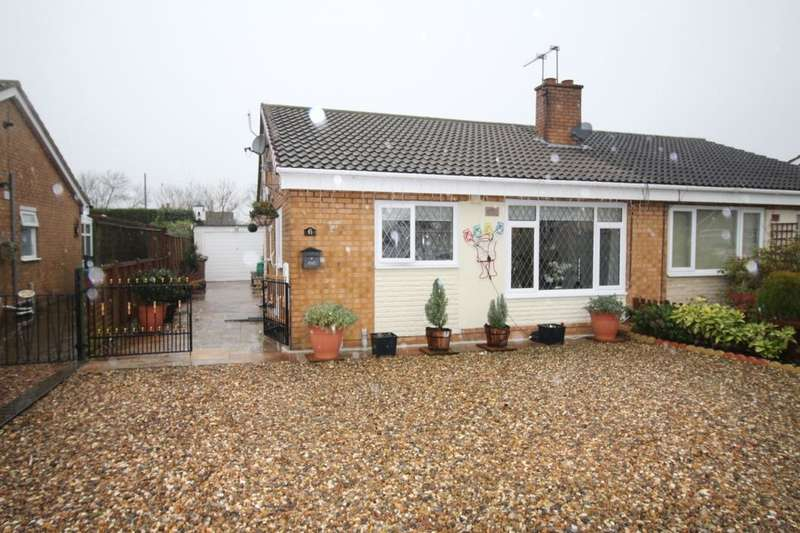 2 Bedrooms Semi Detached Bungalow for sale in Bellasize Park, Gilberdyke, Brough, HU15