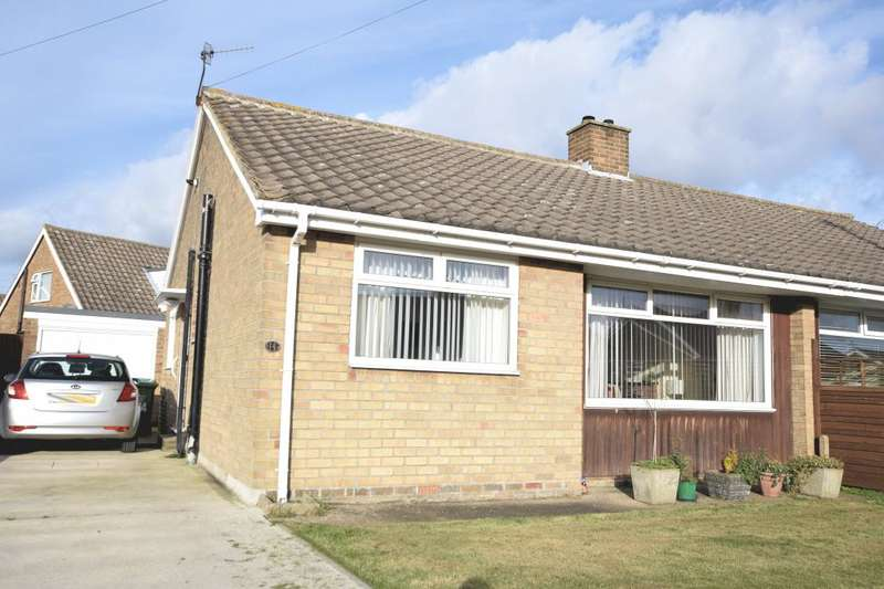 2 Bedrooms Semi Detached Bungalow for sale in Roman Way, Newby, Scarborough, North Yorkshire YO12 5RF