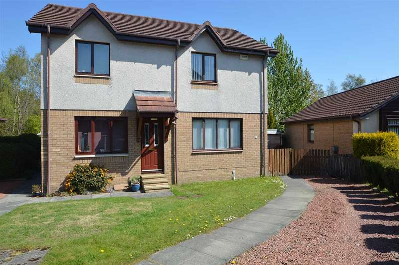 2 Bedrooms Semi Detached House for rent in Muirhead Gate, Uddingston