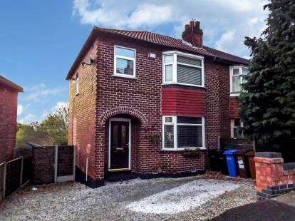 3 Bedrooms Semi Detached House for sale in Sandringham Road, Bredbury, Stockport, Cheshire