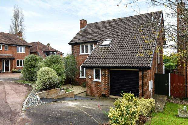 4 Bedrooms Detached House for sale in Spencer Close, Wokingham, Berkshire