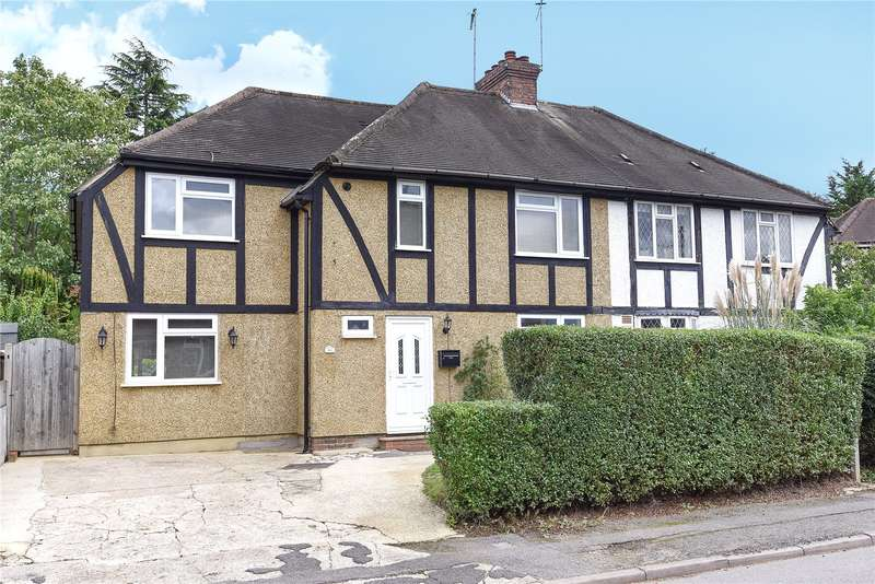 4 Bedrooms Semi Detached House for sale in Addison Close, Northwood, Middlesex, HA6