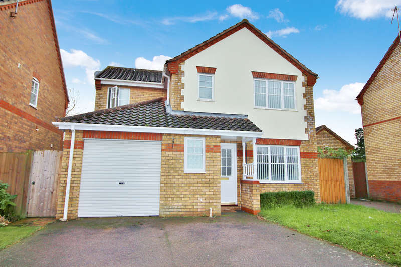 4 Bedrooms Detached House for sale in Wilks Farm Drive, Norwich